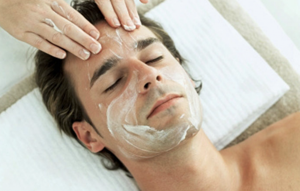 mens facial westminster spa